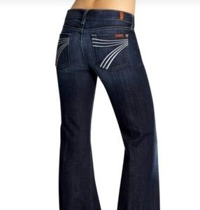 Seven7 Blue Dojo Denim Jeans
